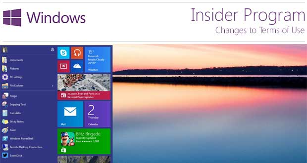 Windows 10 Insider Program