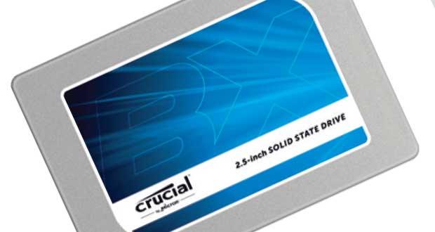 SSD Crucial BX100 500 Go