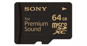 Carte MicroSDXC SR-64HXA