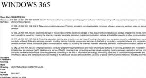 windows 365 trademark microsoft