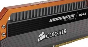 le kit Dominator Platinum DDR4 3400 MHz 16 Go
