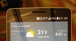 LG G4 Note, galerie de clichets