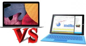 Surface Pro 3 vs MacBook