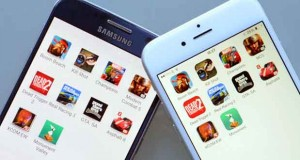 Galaxy S6 contre l'iPhone 6 dans le domaine des jeux vidéo