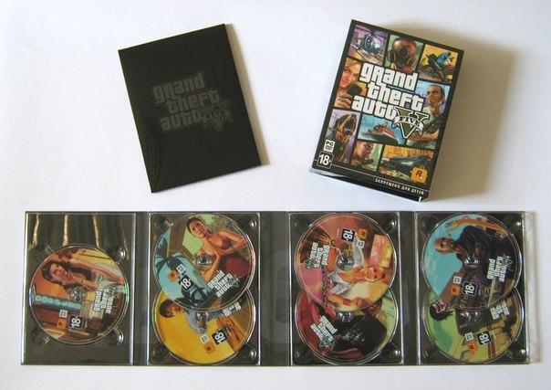 gta 5 pc la version boite contient 7 dvd ginjfo. Black Bedroom Furniture Sets. Home Design Ideas