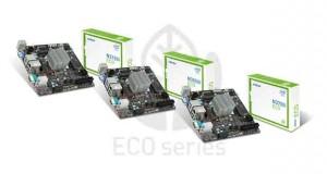 Cartes mères ECO Series N3050I ECO, N3150I ECO et N3700I ECO