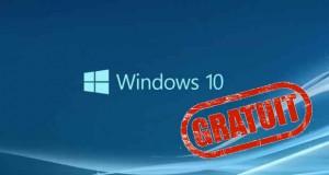 Windows 10 - Mise à jour gratuite pour les utilisateurs de Windows 7 ou Windows 8.1