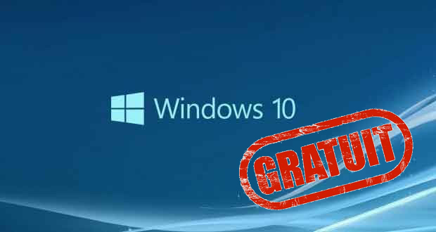 Windows 10 - Mise à jour gratuite pour les utilisateurs de Windows 7 ou Windows 8.1