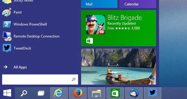 Windows 10 TP build