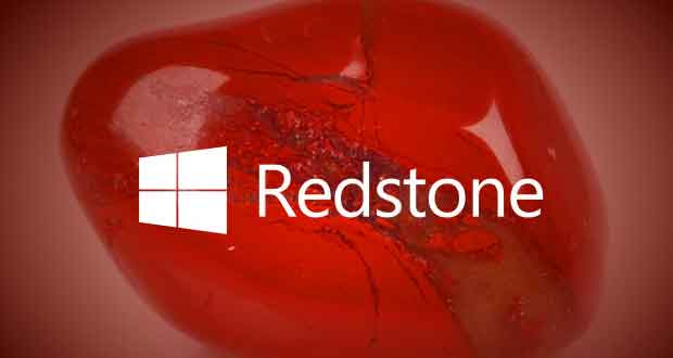 Windows 10 Redstone alias Windows 10 Anniversary Update