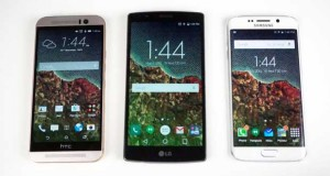 Video comparative : Galaxy S6 Edge, One M9 et LG G4