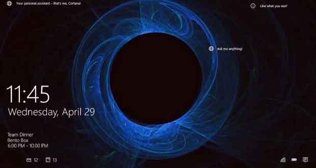 Windows 10, Windows Spotlight