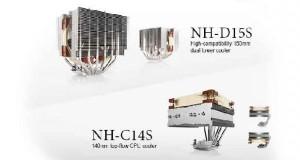 Ventirads Noctua NH-C14S et NH-D15S