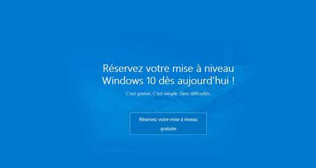 mise jour gratuite vers windows 10 le compte rebours est lanc ginjfo. Black Bedroom Furniture Sets. Home Design Ideas