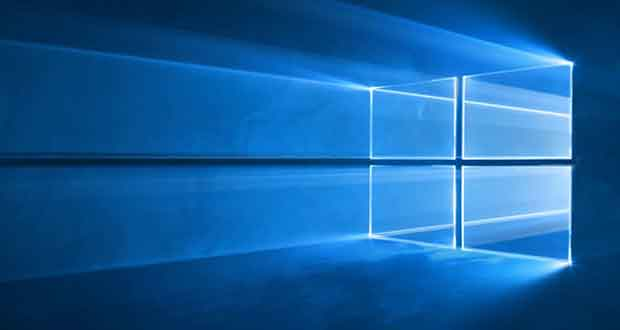Windows 10 - Fond d'écran officiel