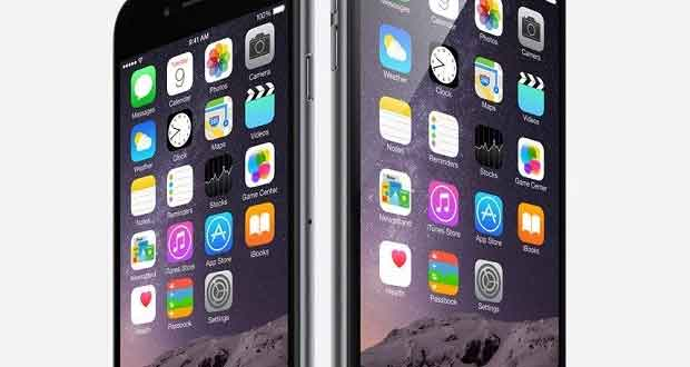 Smartphones Apple iPhone 6 et iPhone 6 Plus