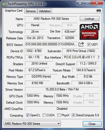 R9 390x / GPU-Z
