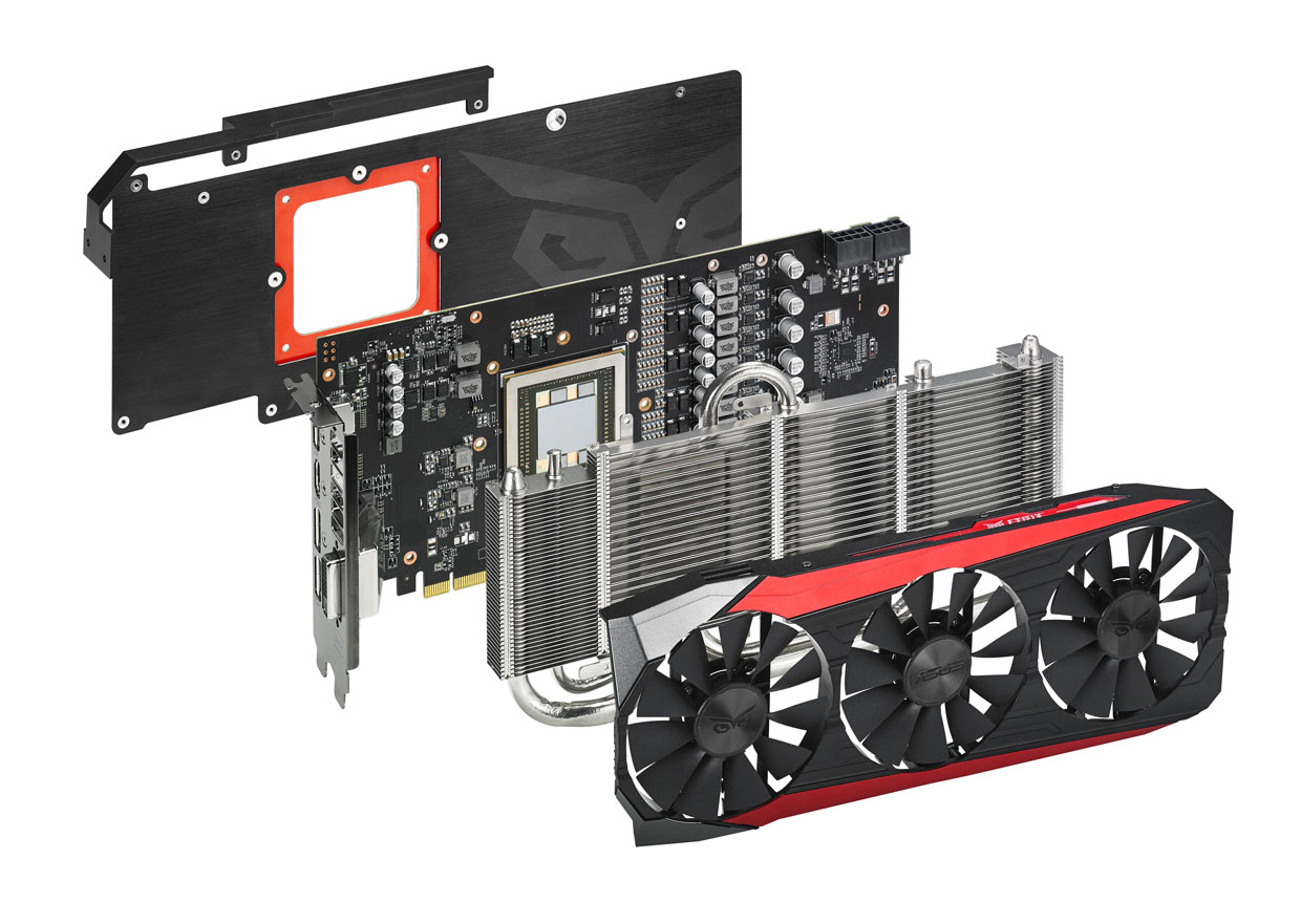 radeon r9 fury et geforce gtx 750 ti asus annonce les versions strix ginjfo. Black Bedroom Furniture Sets. Home Design Ideas