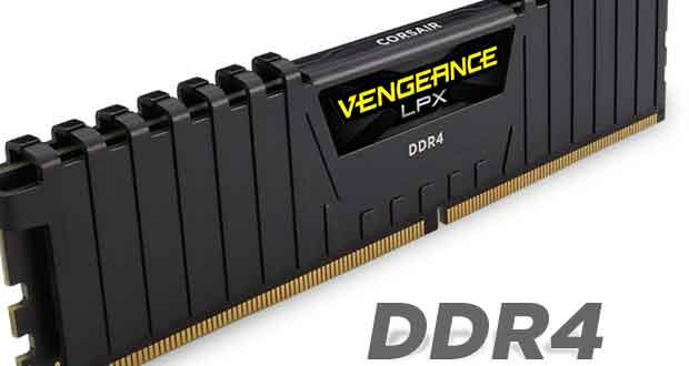 Kits de mémoire Vengeance LPX 16 Go (2 x 8 Go) DDR4 DRAM 2666MHz C16 – Noir (CMK16GX4M2A2666C16)