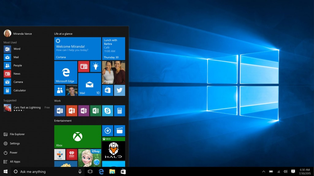 Windows 10, la version finale est disponible