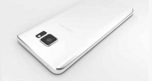 Samsung Galaxy Note 5 - Rendu 3D