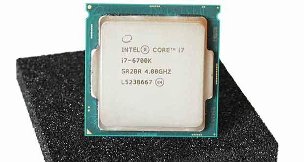 Processeur Skylake Core i7-6700K