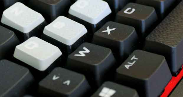 Clavier gaming Strafe - Effets Lumineux