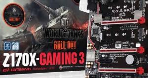 Carte mère Gigabyte Z170X-Gaming 3-EU Edition World of Tanks