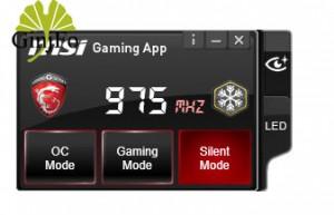 logiciel « Gaming App » sous Windows