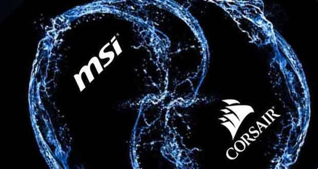 Msi Et Corsair Un Mysterieux Partenariat Autour De Cartes Graphiques Ginjfo