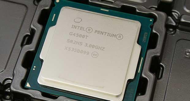 Processeur Intel Skylake Pentium G4500T