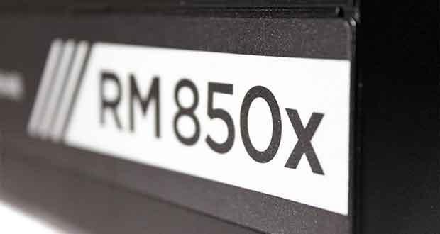 Alimentation RM850x de Corsair