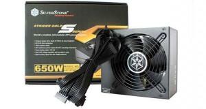 Alimentation Strider Gold S series 650 Watts de SilverStone