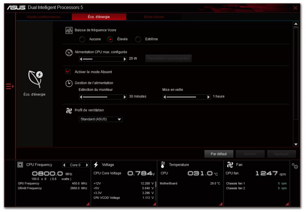 Carte mère Z170I Pro Gaming d'Asus - Logiciels