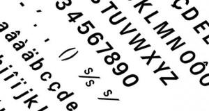 Les polices de caractères