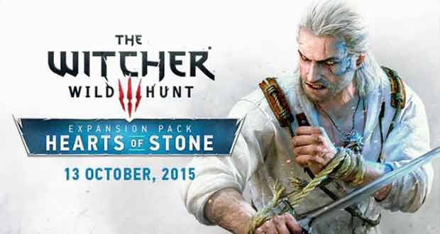 The Witcher 3 : extension Hearts of Stone