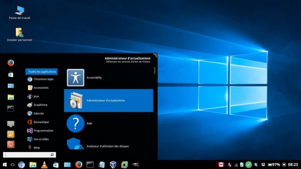 Windows 10 Theme v0.7.9 - Linux