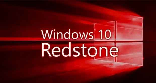 Windows 10 Redstone alias Windows 10 Anniversary Update