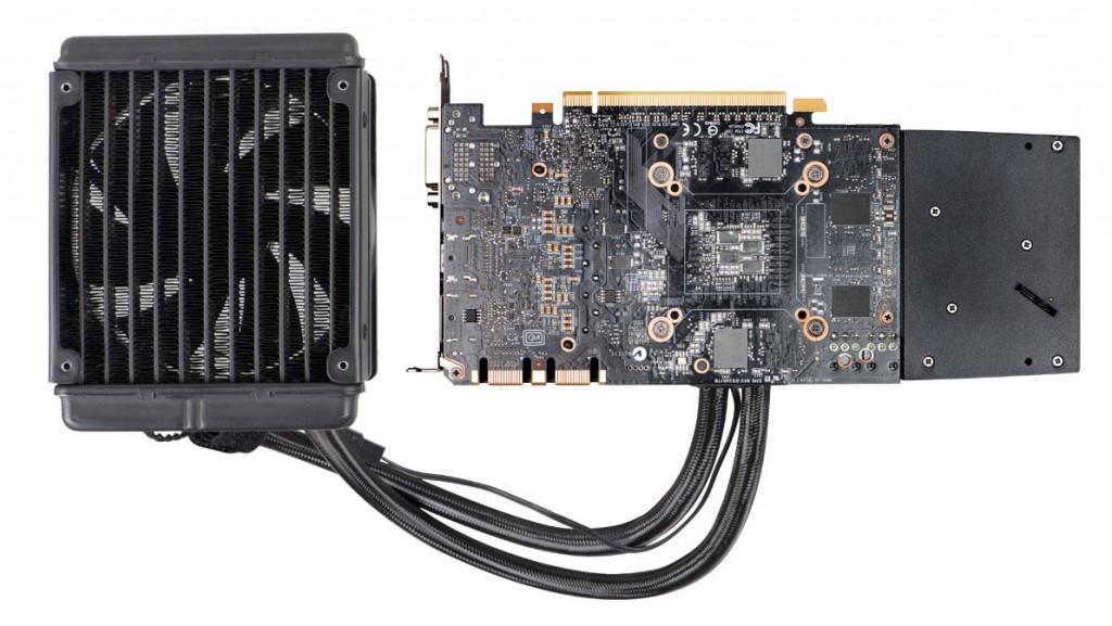 Carte graphique EVGA GeForce GTX 970 Hybrid Gaming
