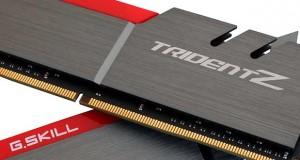 kit DDR4 16 Go TridentZ 3200 MHz de G.Skill