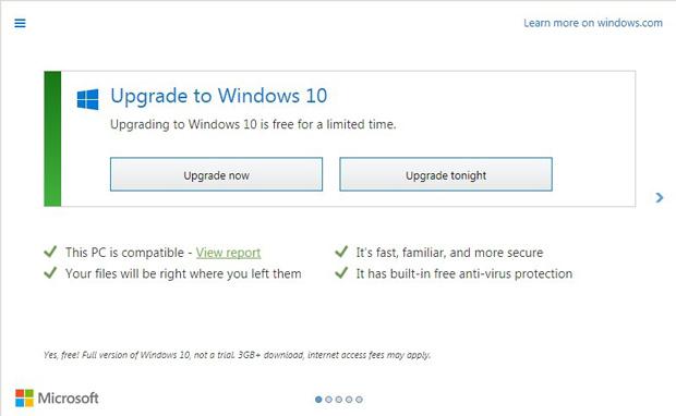Get Windows 10, Microsoft ne demande plus l'avis de l'utilisateur