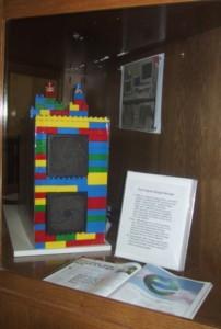 Premier serveur de stockage de Google. Il est fait avec des LEGO