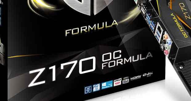 Carte mère ASRock Z170 OC Formula
