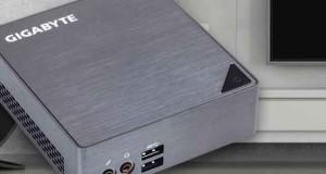 Mini-PC Brix et Brix s de Gigabyte