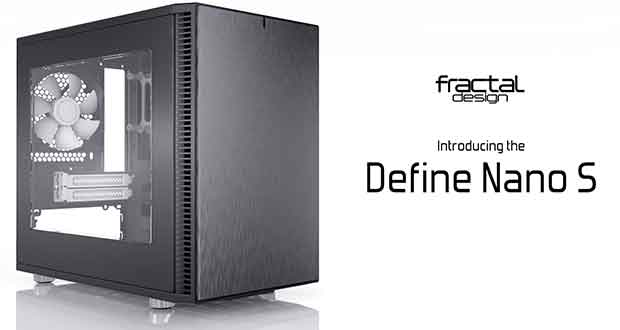 Boitier Define Nano S Window de Fractal Design