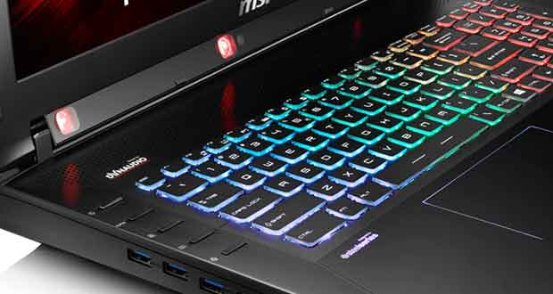 Laptop gaming MSI GT72S Tobii