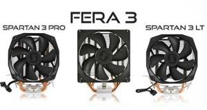 Ventirads Spartan 3 Pro, Spartan 3 LT, Fera 3