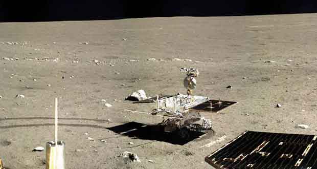 Rover Yutu de la misson Chinoise Chang'e 3