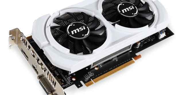 Carte graphique MSI GeForce GTX 950 2GD5T OCV3