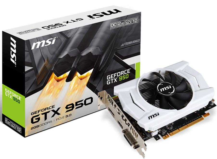 Carte graphique MSI GeForce GTX 950 2GD5 OCV2